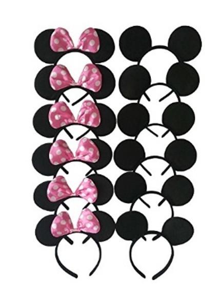 Wholesale Mickey Mouse Ears | Bulk Mickey Mouse Ears | PIECE PRICED 15003D