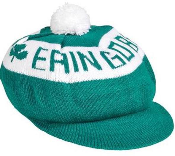 Erin Go Bragh Irish Tam with Green Brim 12PK Bulk 5854D