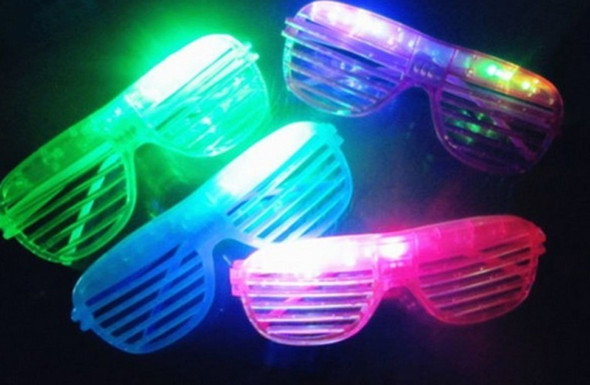 LED Sunglasses | Rave Glasses | 12 PACK Imagine ™ 70001D