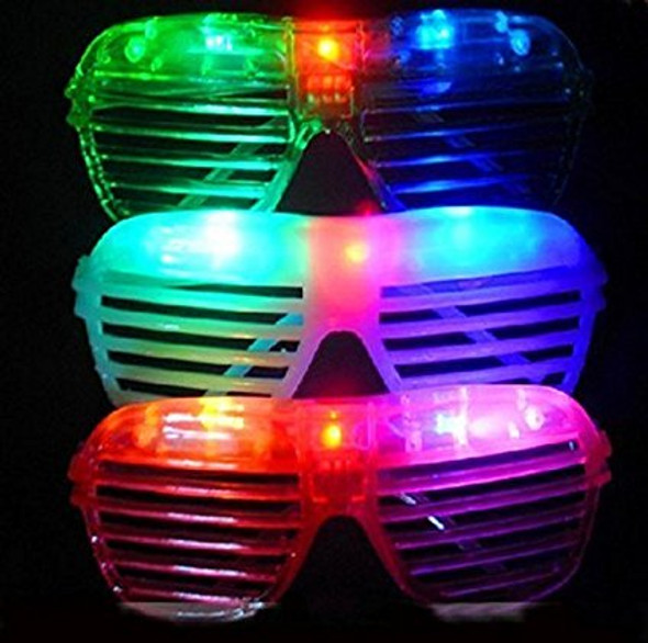 Rave Sunglasses | LED Shutter Shades | 12PK Imagine ™ 70002D