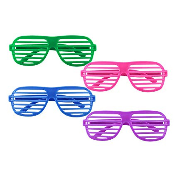 Shutter Shades 12 Pack Mix Colors  1158D