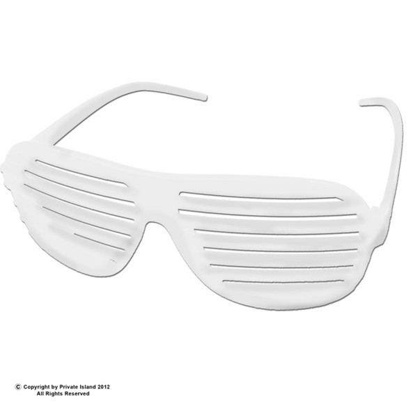 Shutter Shades White 12 PACK 1163D