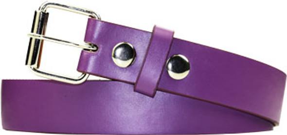 Purple Kids Belts | W/ Free Buckle 12PK 2915P