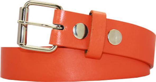 Orange Kids Belts |  w/ FREE Detachable Buckle 12PK 2915O