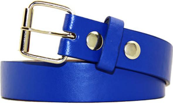 Boys Uniform Belts | Blue 12PK with Free Detachable Buckle 12PK 2915B