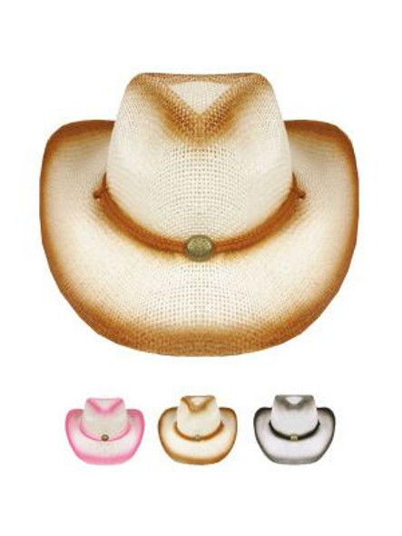 Childrens Cowboy Hats Bulk | 12 PACK Theatre Quality 2 Color Choices | 1566DM