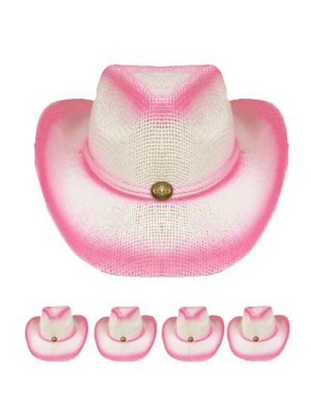 12 PACK Childrens Cowboy Hats Bulk | 2 Color Choices | 1566DM