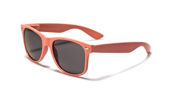 Coral Wayfarer Sunglasses
