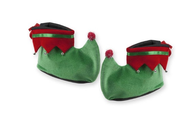Elf Shoes Green/Red CASE 72PCS 1698CS