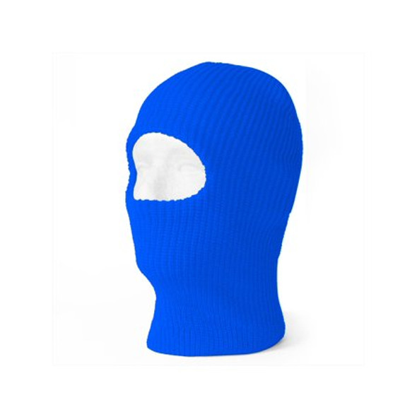 12 PACK Royal Blue One Hole Knit Ski Mask 3068B