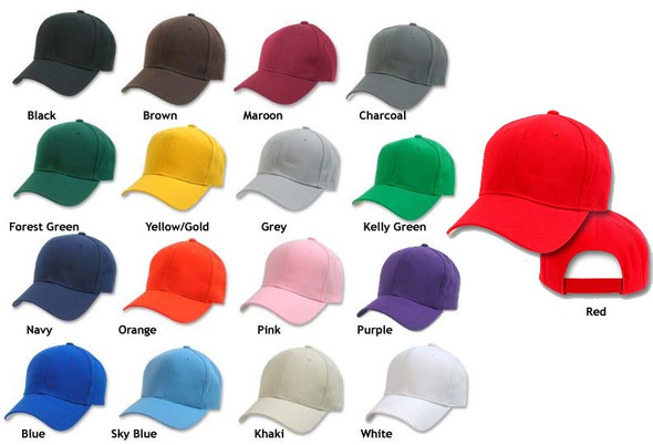 Dad Hats | Blank Baseball Caps | Sold BY Piece 1380PC