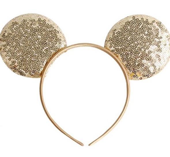 Silver Minnie Ears | Mickey and Minnie Ears | 15003SIL