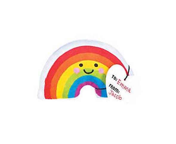 12 PACK  Valentines Plush Rainbow Exchange Gifts 20001