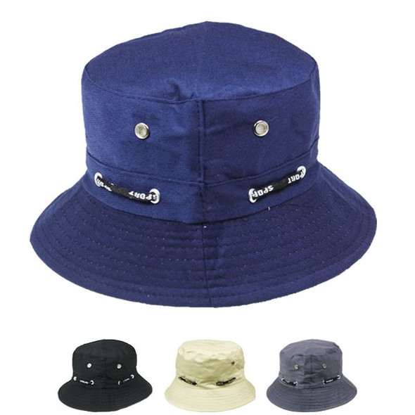 12 PACK BUCKET HATS MICRO ABSORBENT VENTED MIX COLORS 22.5 Standard Adult 5820D