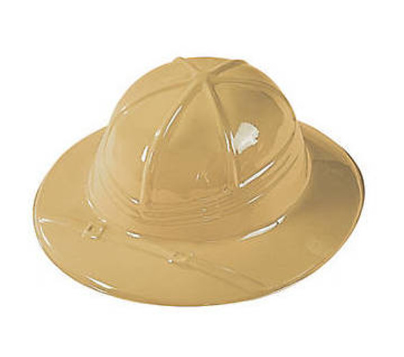 Child's Plastic Safari Hats 12 PACK 38434