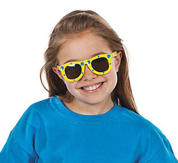 Kids Fish Print Sunglasses 12 PACK MIX Colors Party Favor Quality Ages 3-9   383