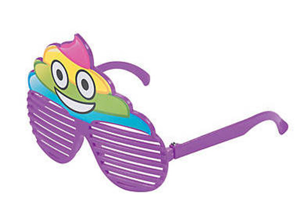 Kids Rainbow POOP Sunglasses 12 PACK Ages 3-9 | 386