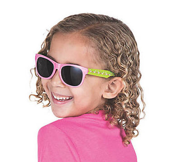 Kids Flamingo  Sunglasses 12 PACK Ages 3-9 | 387