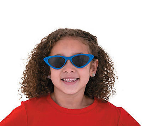 Kids Cat Eye Sunglasses Mix Colors 12 PACK Ages 3-9 | 389