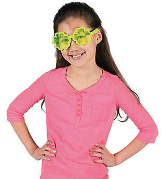 Kids Flower Sunglasses 12 PACK Mixed Colors Premium Quality Ages 3-9 | 392