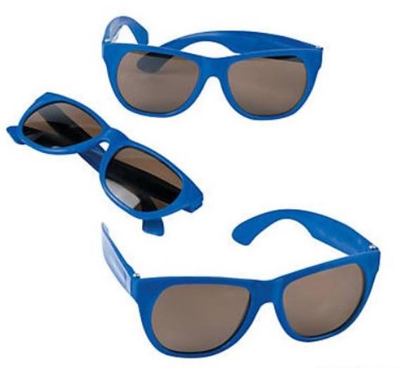 Royal  Blue Sunglasses 12 PACK Party Favor Quality 406