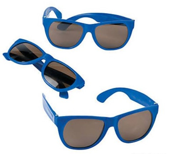 Royal  Blue Sunglasses 12 PACK Party Favor Quality 406