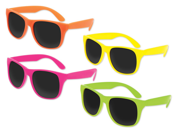 Mixed Color Sunglasses 12 PACK Party Favor Quality 408