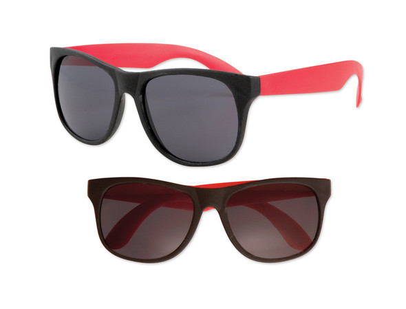 Black Sunglasses Red Legs 12 PACK Party Favor Quality 423