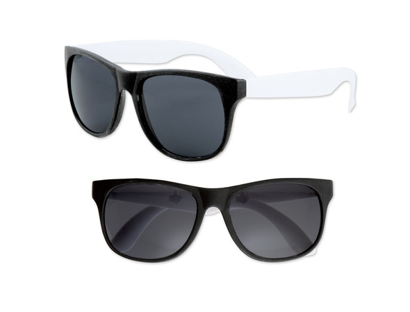 Black Sunglasses White Legs 12 PACK Party Favor Quality 424