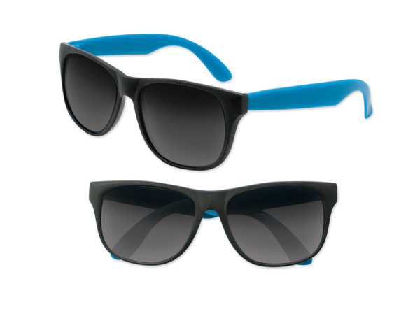 Black Sunglasses Light Blue Legs 12 PACK Party Favor Quality 425