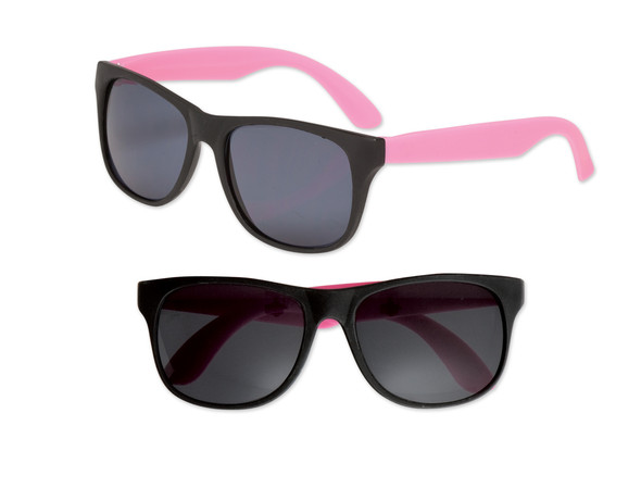 Black Sunglasses Light Pink Legs 12 PACK Party Favor Quality 426
