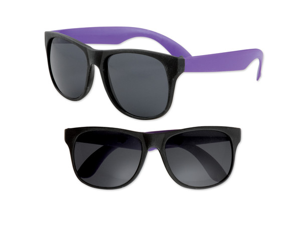 Black Sunglasses Purple Legs 12 PACK Party Favor Quality 428