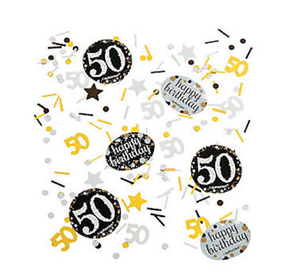 50's Birthday Celebration Confetti 38190