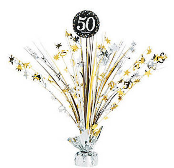 50's Birthday Centerpiece  for 50th Celebration 38195