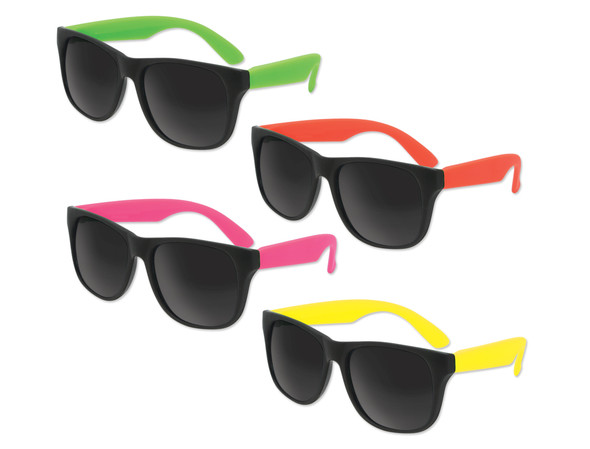 Kids Mixed Color Sunglasses 12 PACK Party Favor Quality Ages 3-9 | 3990