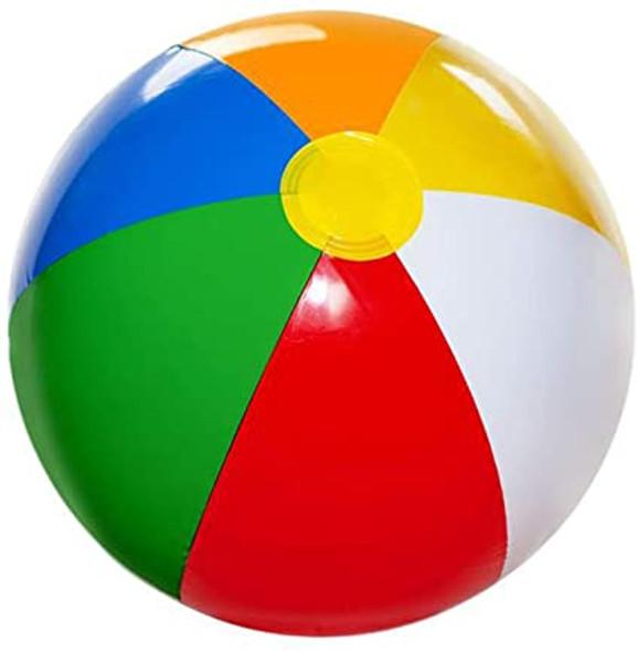 "Beach Balls Bulk | 12"" Standard Size Colorful 9045 12 PACK"