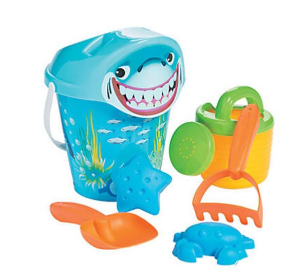Shark Sand Bucket Set (7 Pcs)
