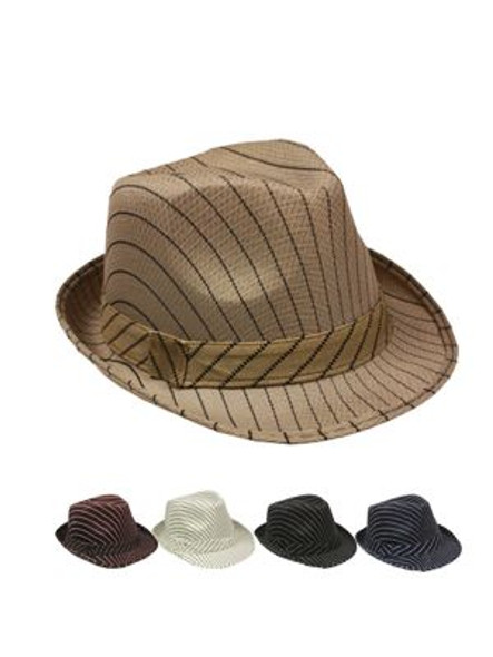 Customized Felt Fedora Hats | Quality + 13200F 4 Color Options Adult Size