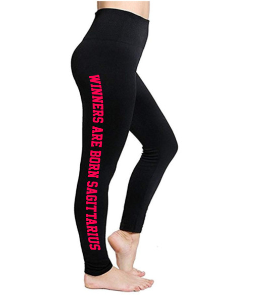 Sagittarius Leggings | Horoscope Leggings | Winners Are Born