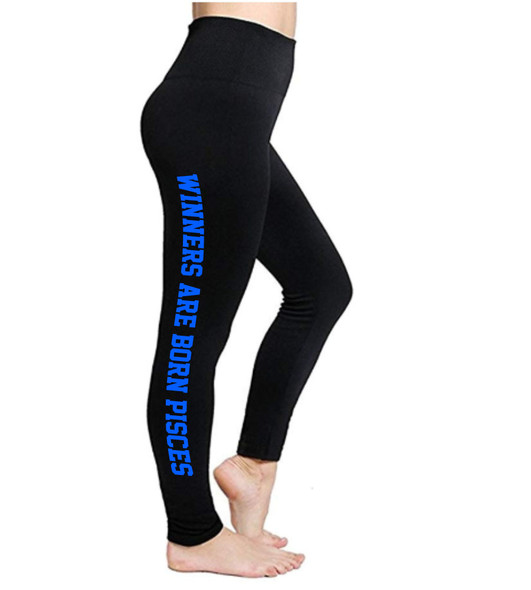 Pisces Leggings | Horoscope Leggings | Winners Are Born