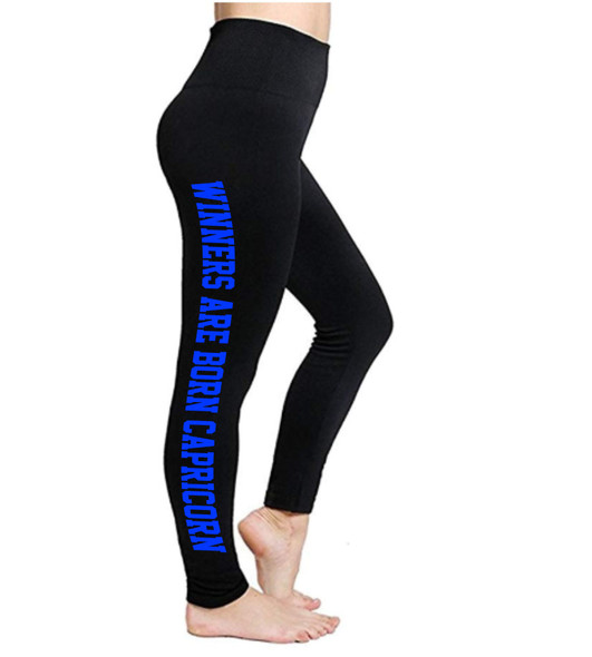 Capricorn Leggings | Horoscope Leggings | Winners Are Born