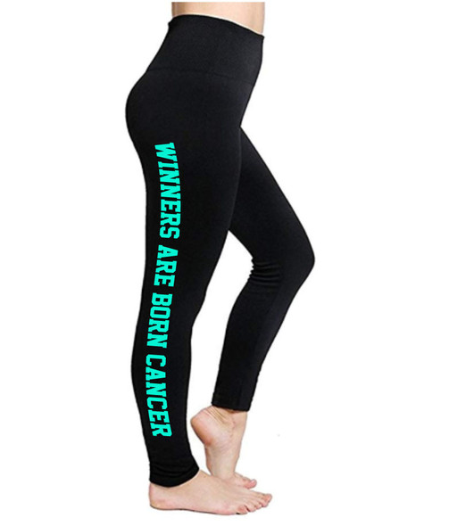 Cancer Birth Sign Leggings | Horoscope Leggings | Winners Are Born