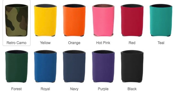 Blank Koozies 12 PC Minimum 19112B