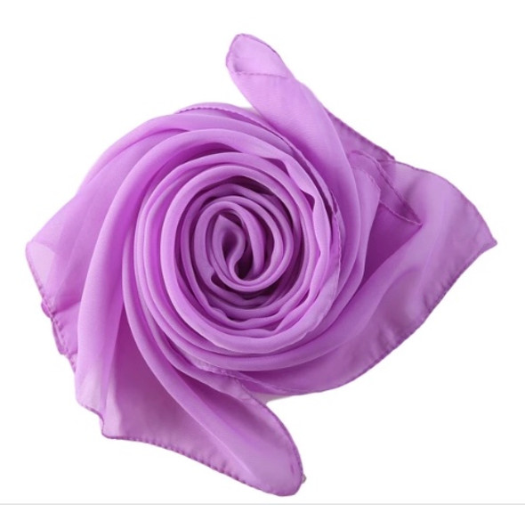 "Lavender Long Sheer Chiffon Scarf 12 PACK  21"" x 60"" 2134L"