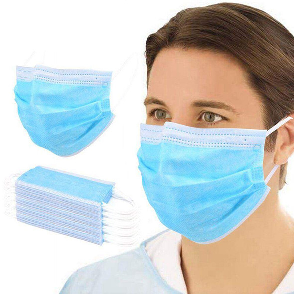 Dust Masks   Disposable Face Masks   50 PACK 70001FM