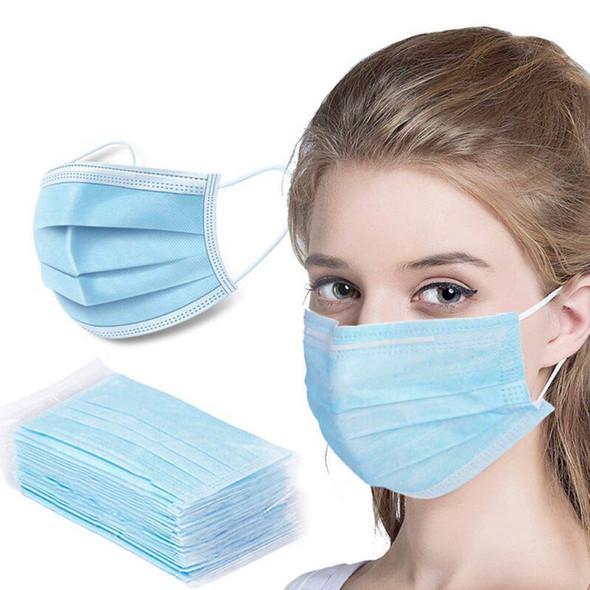 Dust Masks | Disposable Face Masks | 50 PACK 70001FM