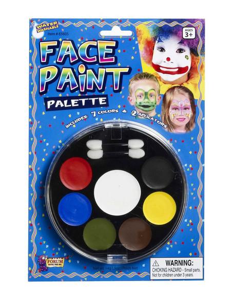 Party Palette Face Paint Kit | 7-Color Face Paint Tray 1998