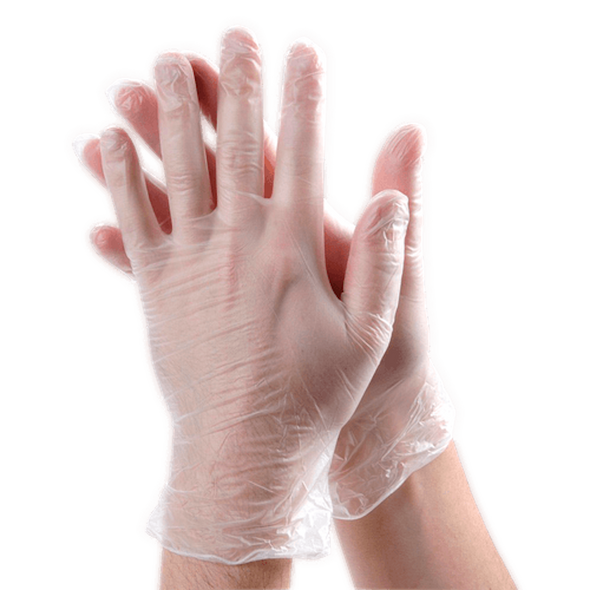 Bulk Vinyl Gloves | 100 PACK Disposable Gloves Powder Free SHIPS TODAY  15035V