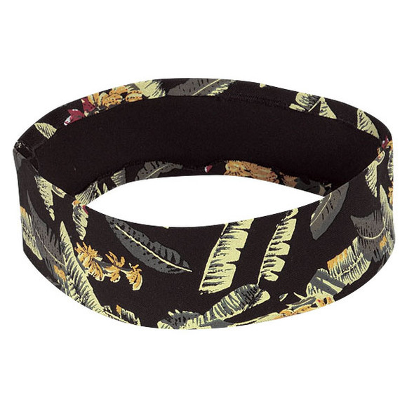 Tropical Hat Bands | 2.25' Non Pleated Solid Cotton/ Spandex Twill