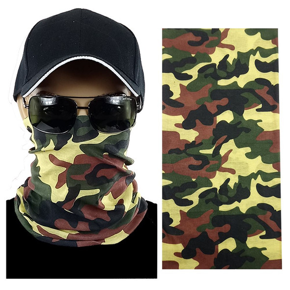 Camouflage Multi-function Seamless Tube Bandana 12 PACK 700TBC